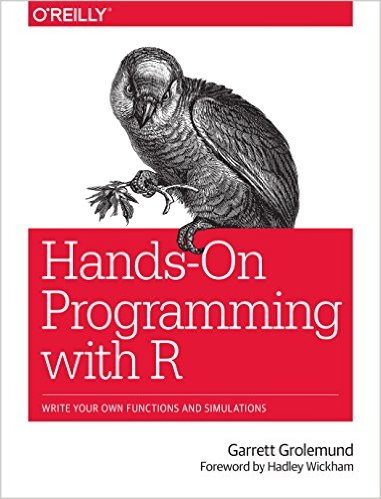Hands-On Programming with R book